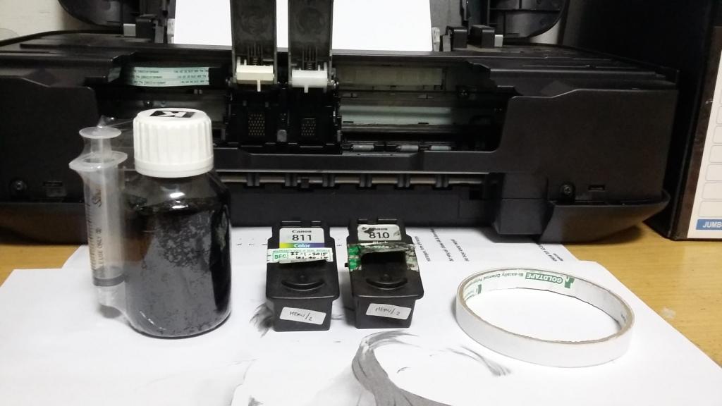 harga tinta printer suntik